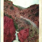 Ute Pass and Rainbow Falls, CO Postcard c1910