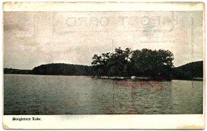 Singletary Lake, MA c1915 Postcard