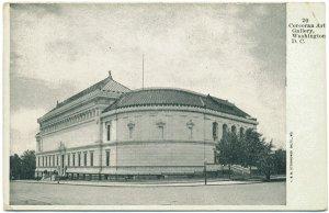 Corcoran Art Gallery, Early Washington, DC Postcard