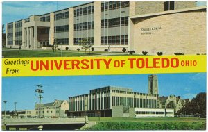 University of Toledo, Dual-View Postcard