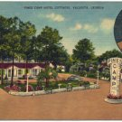 Pines Camp Hotel Cottages, Valdosta, GA Postcard