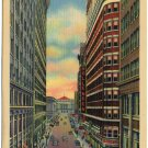 East Sixth St / Hollenden Hotel, Cleveland, OH Postcard