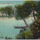 Cedar River, Cedar Rapids, Iowa c1910s Postcard