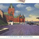 The Dufferin Terrace, Quebec Postcard