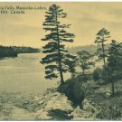 Raggedy Rapids, Muskosk River, Ontario Postcard