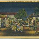 "Street of Mexican Bazaars, ""Olvera Street"", Los Angeles"