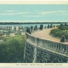 The Lookout, Mount Royal, Montreal, Canada Postcard
