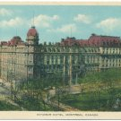 Windsor Hotel, Montreal, Canada Postcard