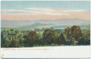 Laurel Lake from Richard Goodman's Residence, Lenox, MA