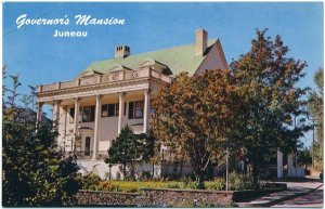 Governor's Mansion at Juneau, AK Postcard
