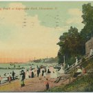 Public Bathing Beach, Edgewater Park, Cleveland c1912