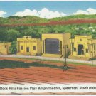 Black Hills Amphitheater, Spearfish, SD Postcard