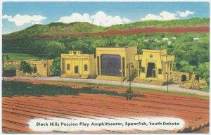 Black Hills Amphitheater, Spearfish, SD Postcard