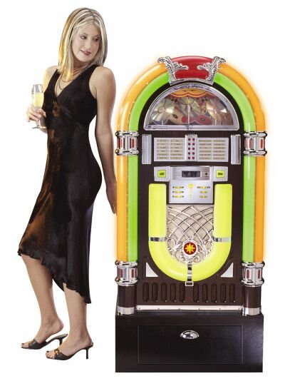 Crosley 10 disc CD Jukebox