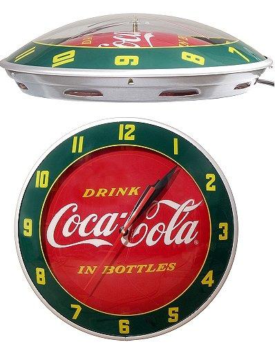 Coca Cola Double Bubble Clock