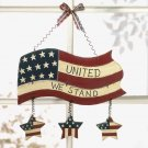 'UNITED WE STAND' WALL PLAQUE