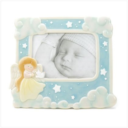 Angel In Clouds Photo Frame