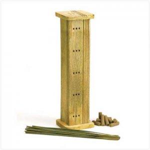 Natural Spa Wooden Incense Set