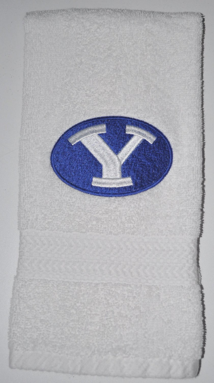 Embroidered Hand Towel (BYU Cougars)