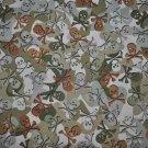 Camo Skulls Cotton Print Fabric - (1Yd Remnant Piece)