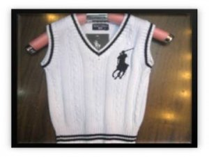 POLO KNITTED VEST