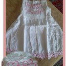 White Cotton Fashion Dress