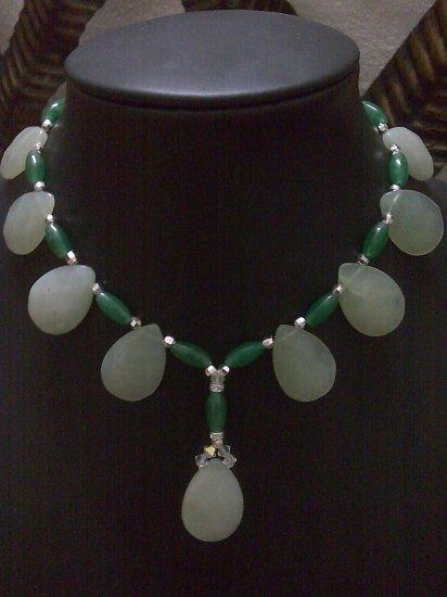 Cleopatra Semi precious Stone Necklace