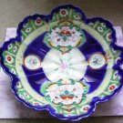 Antique 1900s Gaudy Welsh Dutch Serving Bowl