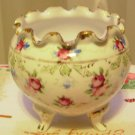 Deco Antique Porcelain Hand Painted Rose Bowl