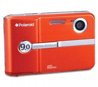 BRAND NEW Polaroid A930 9MP Digital Camera + USB Cable, Batteries Orange FACTORY SEALED FREE US Ship
