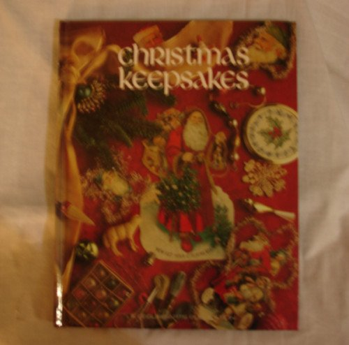 Christmas Keepsakes - by Leisure Arts -  hardcover - cross stitch