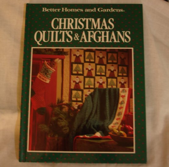 Christmas Quilts & Afghans, hardcover craft book