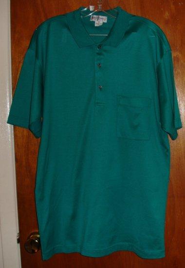 Men's Green Cotton Shirt size M   by Bullock & Jones  $70 retail