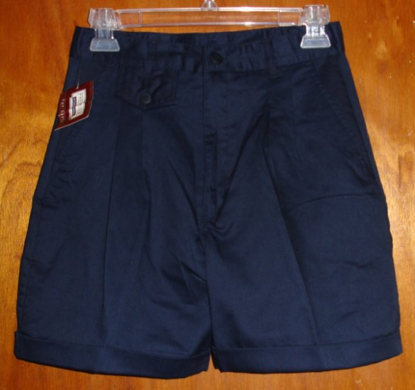 NWT  Girl's lightweight Navy Blue shorts size 14   by Premier  NEW WITH TAGS