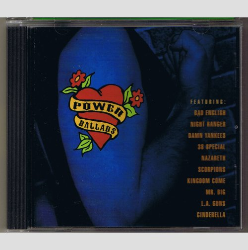 Power Ballads - Various Rock / Big Hair Band artists    CD
