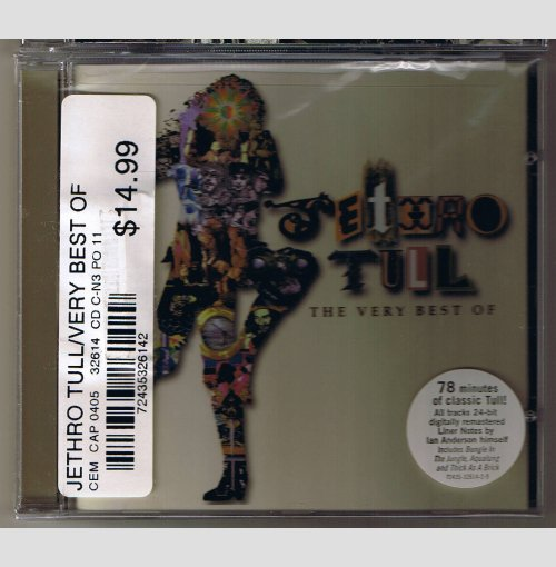 Jethro Tull The Very Best of      CD    SEALED   NEW
