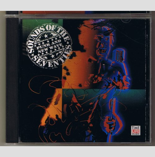 Sounds Of The Seventies  Punk and New Wave -    music CD