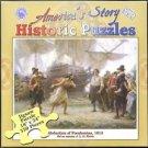 Abduction of Pocahontas, 1613 New 550 pc Jigsaw Puzzle J L G Ferris
