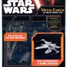 Metal Earth Star Wars POE DAMERON'S X WING FIGHTER New 3D Puzzle Micro Model