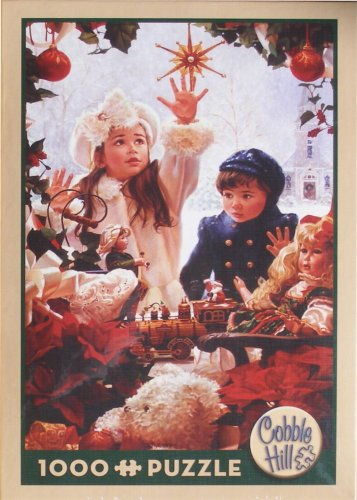 Cobble Hill CHRISTMAS WISH New 1000 pc Jigsaw Puzzle Jean Monti