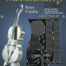 Metal Earth BASS FIDDLE New 3D Puzzle Micro Model