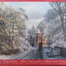 Eurographics NEW ENGLAND CHRISTMAS STROLL 1000 pc New Jigsaw Puzzle