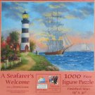 SunsOut A SEAFARER'S WELCOME New 1000 pc Panorama Jigsaw Puzzle Dennis Lewan Clipper