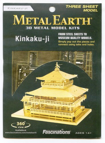 Metal Earth KINKAKUJI Golden Pavillion Temple New 3D Puzzle Micro Model