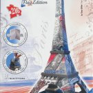 Ravensburger EIFFEL TOWER French Flag Edition New 3D Jigsaw Puzzle 216 pc