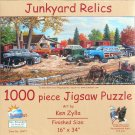 SunsOut KenZylla JUNKYARD RELICS 1000 pc New Panorama Jigsaw Puzzle
