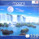MOON OVER IGUAZU FALLS New 550 pc Jigsaw Puzzle