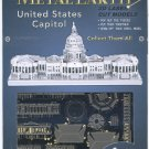 Metal Earth UNITED STATES CAPITOL BUILDING 3D Puzzle Micro Model