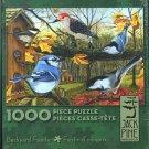 BACKYARD FEEDER 1000 pc Jigsaw Puzzle Birds Bluebird