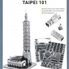 Metal Earth Iconx TAIPEI 101 BUILDING New 3D Puzzle